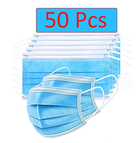 Bildos-Non-Woven-Fabric-Disposable-Surgical-Mask-Blue-Without-Valve-Pack-of-50