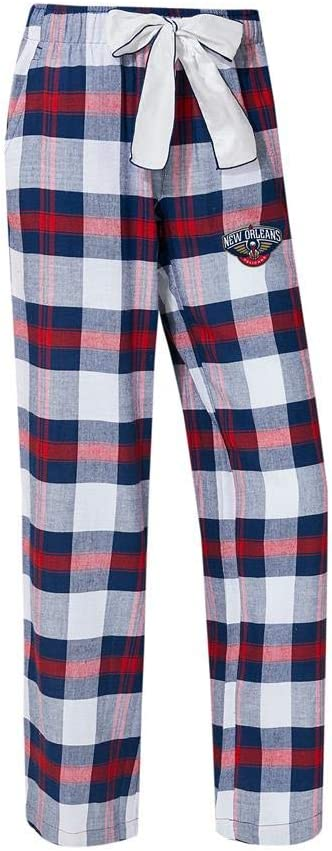 Concepts Sport New Orleans Pelicans Mens Pajama Pants Plaid Pajama Bottoms