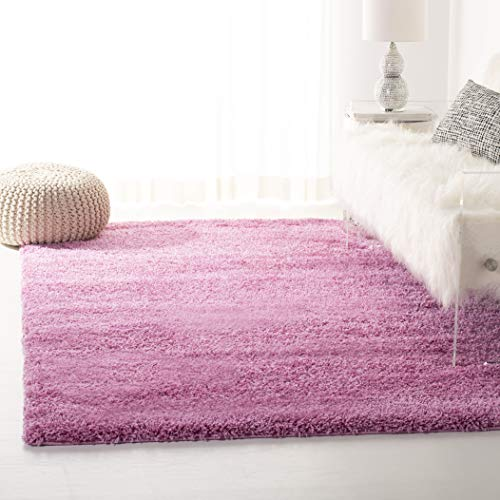 Safavieh California Premium Shag Collection SG151-3232 Pink Area Rug (5'3