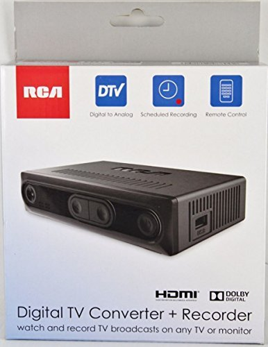 RCA HDMI Digital TV Converter + Recorder