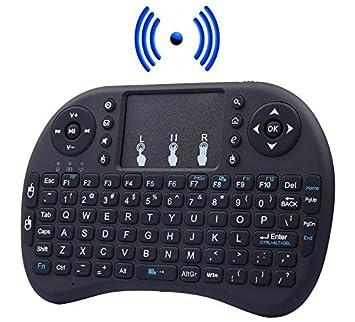Mini Teclado Inalámbrico Touchpad 2.4g Ratón Inalámbrico para Smart Tv, Pc, Consola,
