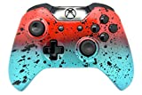 Custom Xbox One Rapid Fire Modded Controller, Works With All Games, COD, Rapid Fire, Dropshot, Akimbo & More (Red/Teal)