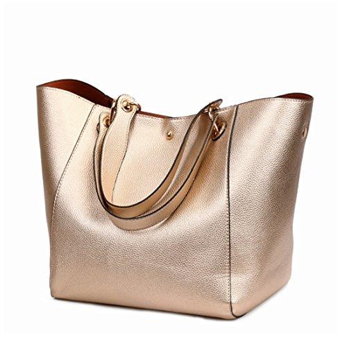 color Gold Tracolla Donna Rose Maniche Da A Corte Per Tote Borsa Bag Hemotrade Black FqvfOp4np