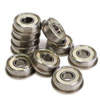 10pcs Motor Flange Bearing F608ZZ Metric Bearings Part - 3D Printer & Supplies 3D Printer Accessories by Unknown