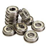 10pcs Motor Flange Bearing F608ZZ Metric Bearings Part - 3D Printer & Supplies 3D Printer Accessories