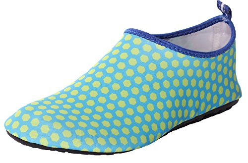 Men's Shoes Women's Barefoot Slip Aqua Water Skin Dry and Lightweight Shoes On Quick Green2 CAIHEE zEBqxz