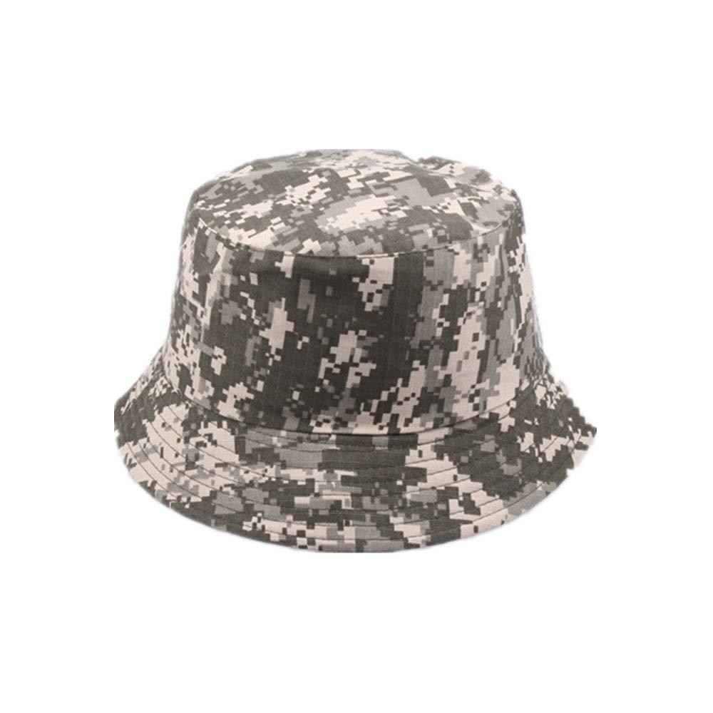 Green Bucket Hats for Men Bucket Hat Unisex 100/% Cotton Camouflage Outdoor Travel Bonnet Mountain Climbing Cap Pattern Fisherman Hats Reversible Bucket Hat XGao Bucket Hats for Women