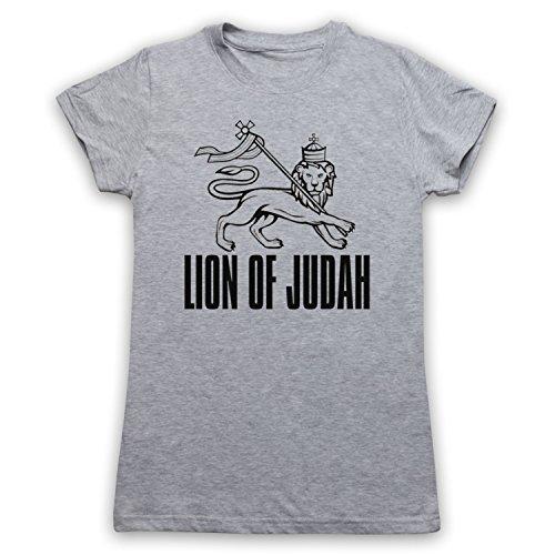 Lion Of Judah Israelite Tribe Camiseta para Mujer Gris Claro
