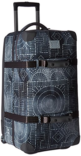 Burton Wheelie Double Deck Travel Bag, Bandotta Print