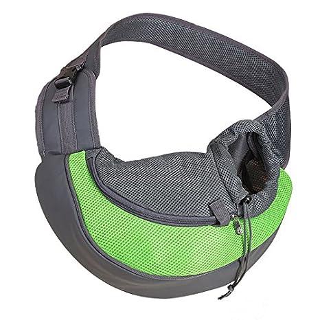 Aubess Portable Soft Pet Carrier Shoulder Front Sling Bag for Dogs and Cats Travel Tote Shoulder Bag Backpack Pet