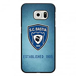 Luxury Sporting Club De Bastia Logo Phone Funda,Sporting Club De Bastia Cover Phone Funda,Samsung Galaxy S6Edge Phone Funda