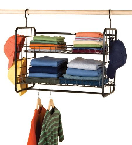 Amazon.com: Rubbermaid MN700 Deluxe Hanging Storage Shelf: Home U0026 Kitchen