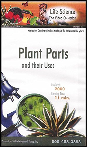 - Plant Parts and Their Uses (The Life Science Video Collection) [VHS] GRADE 2
