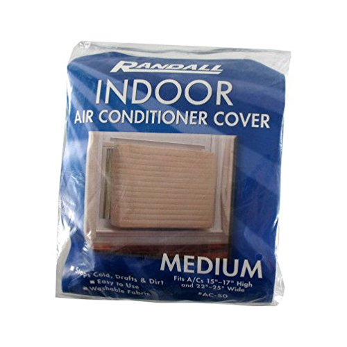 Medium Indoor Quilted Air Conditioner Cover (Fits A/C 15-17 X 22-25 Wide) by Randall Manufacturing Company B00ALX04SE