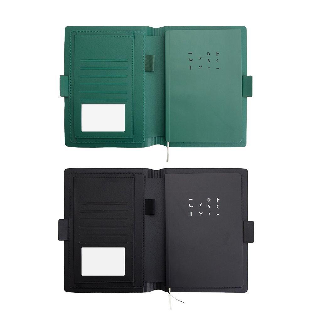 Jia 1 Hu - 1 Jia cuaderno de negocios con tapa dura recargable para escuela, oficina 2057ab
