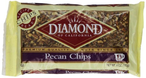 Diamond Pecan Chips, 6-Ounce Bags (Pack of 4)