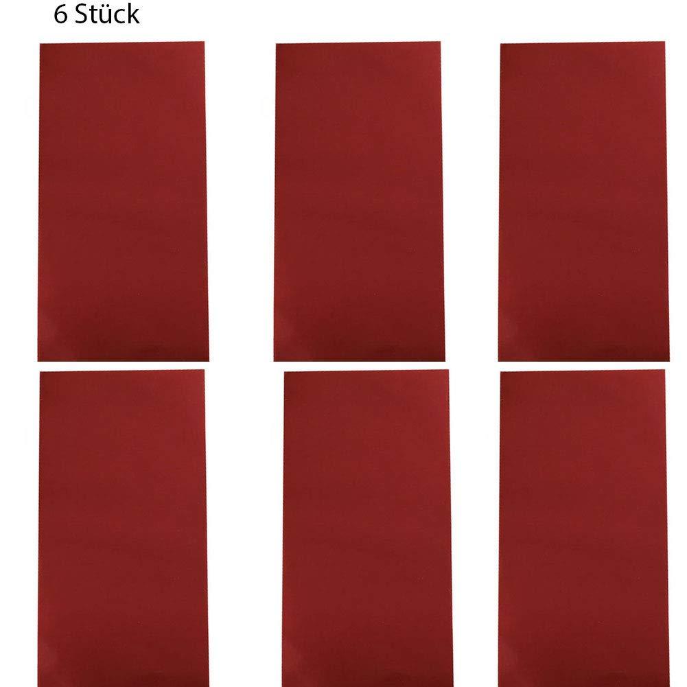 Tissu Green 10 * 20cm Outtybrave Lot de 6 Patchs de r/éparation pour Veste de Sport pour r/éparation de v/êtements de Sport
