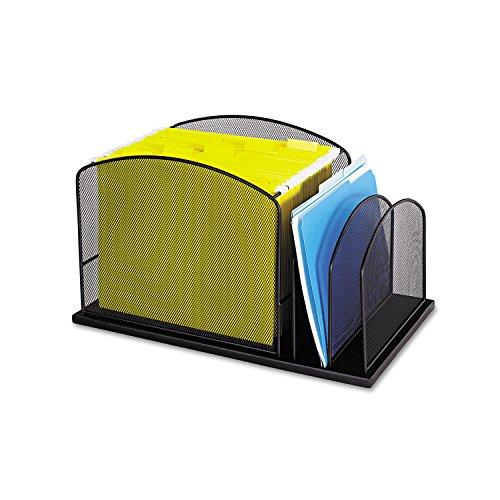 (SAF3259BL - Safco Steel Mesh Desktop Hanging File)