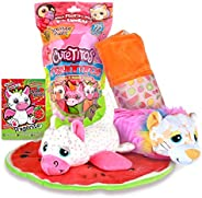 Basic Fun Cutetitos Fruititos - Surprise Stuffed Animals - Collectible Scented Plush - Series 4 - Great Gift f