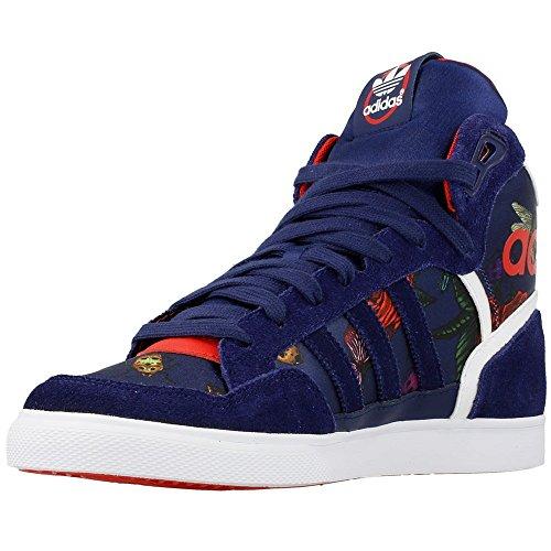 Adidas - Extaball W - M19066 - Color: Azul marino-Blanco-Rojo - Size: 36.6