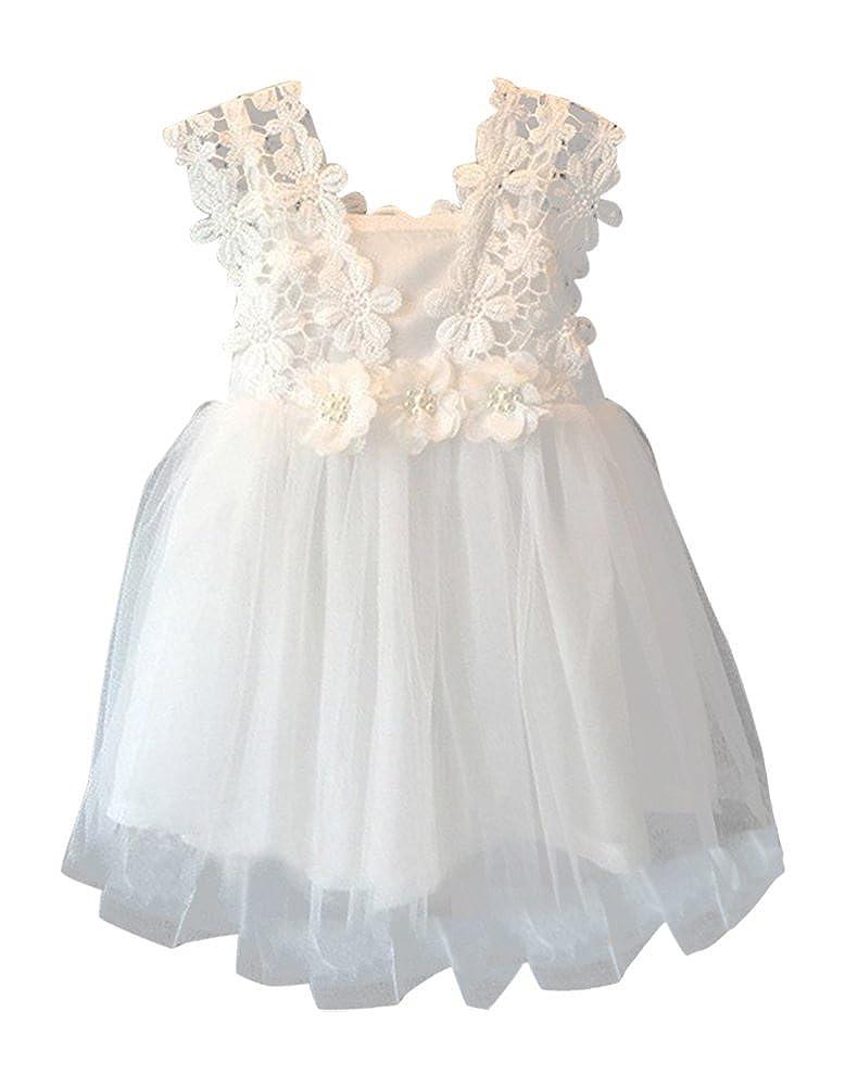Amazoncom Nonna Bambini Miss Daisy Little Girls Crochet Tutu
