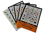 Halloween Bingo Party Game for All Ages Great For Kids and Adults for 24 Players