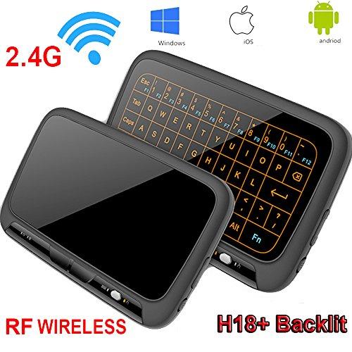 good Mini Keyboard,Super-VIP H18+ Wireless Touchpad Mouse
