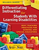 Differentiating Instruction for Students With...