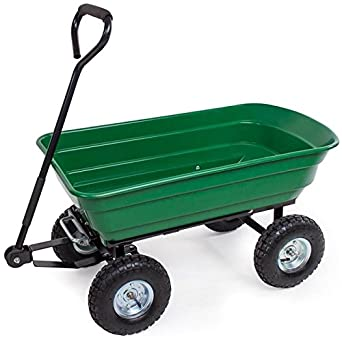 Carro abatible 4 ruedas cruk bañera plástico capacita kg.