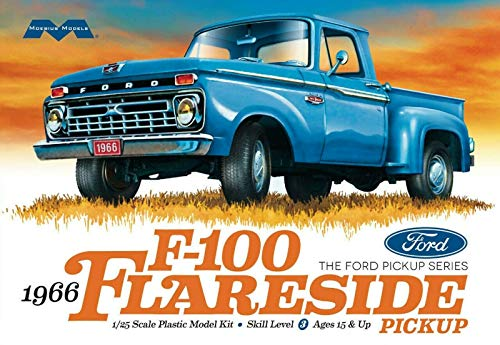 Moebius 1966 Ford F-100 Flareside Pickup Model Kit 1:25 : #1232