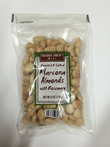 Trader Joe's Roasted & Salted Marcona Almonds with Rosemary - Pack of 12 by Trader Joe's