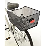 Axiom Basket Rear Ractop Market Basket Blk Mesh