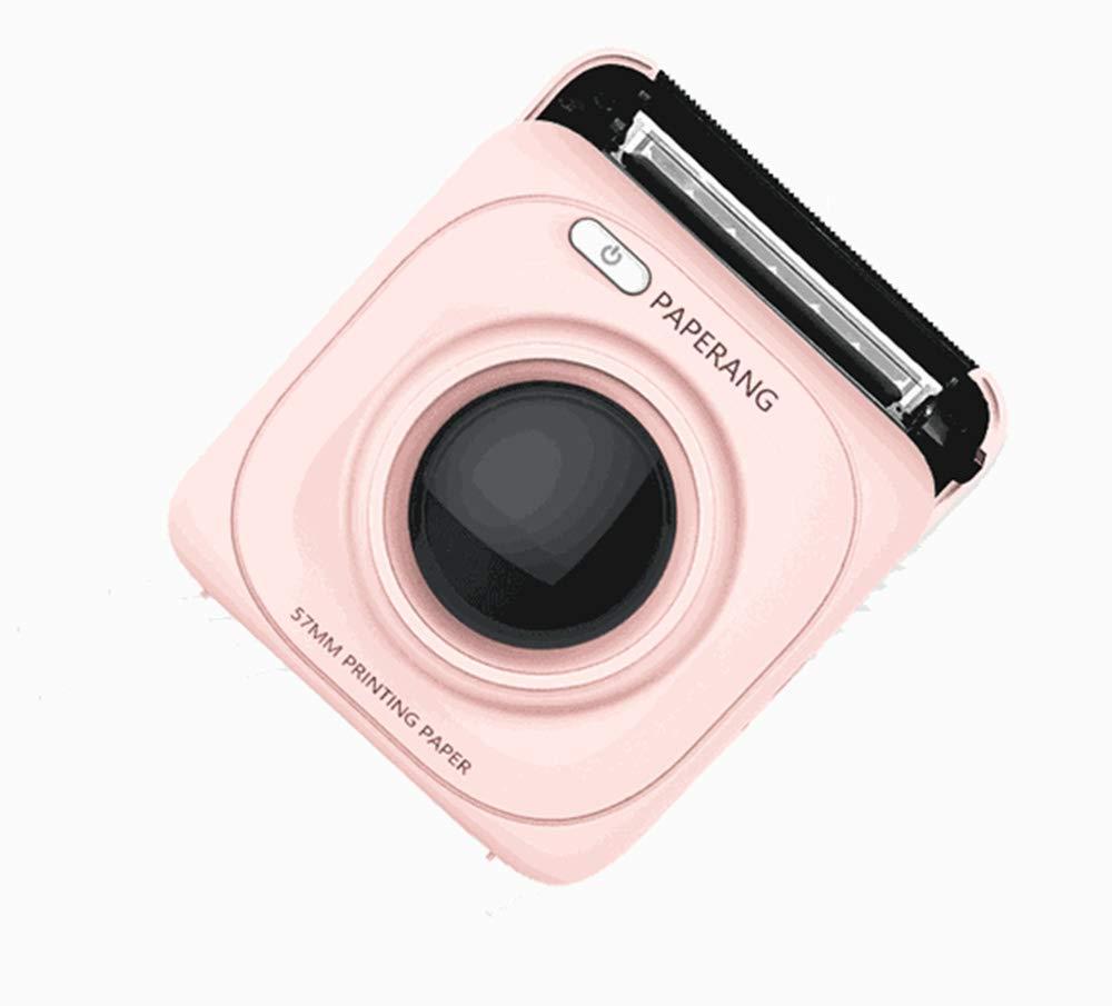 Mini-Bluetooth-Drucker - Drahtloser Papierfotodrucker-Tragbarer Sofortiger Mobiler Drucker Für Iphone/Ipad / Mac/Android-Geräte,White