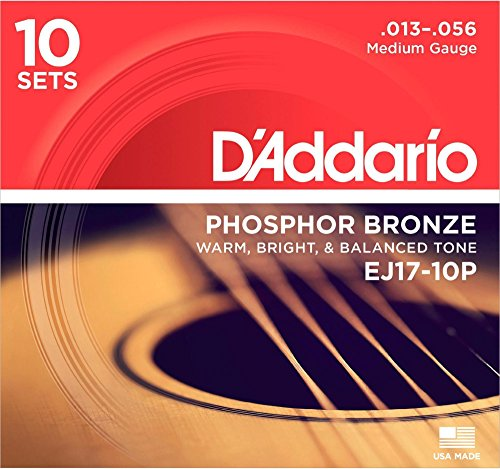 DAddario Medium Phosphor Acoustic Strings product image