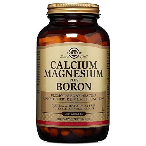 Solgar - Calcium Magnesium Plus Boron, 250 Tablets