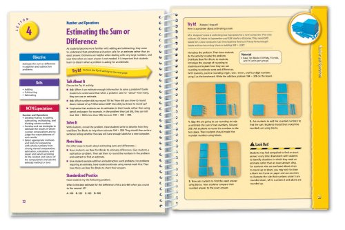 Learning Resources Hands-On Standards: Photo-Illustrated Lessons for Teaching with Math Manipulatives, Grades 3-4 Photo #2