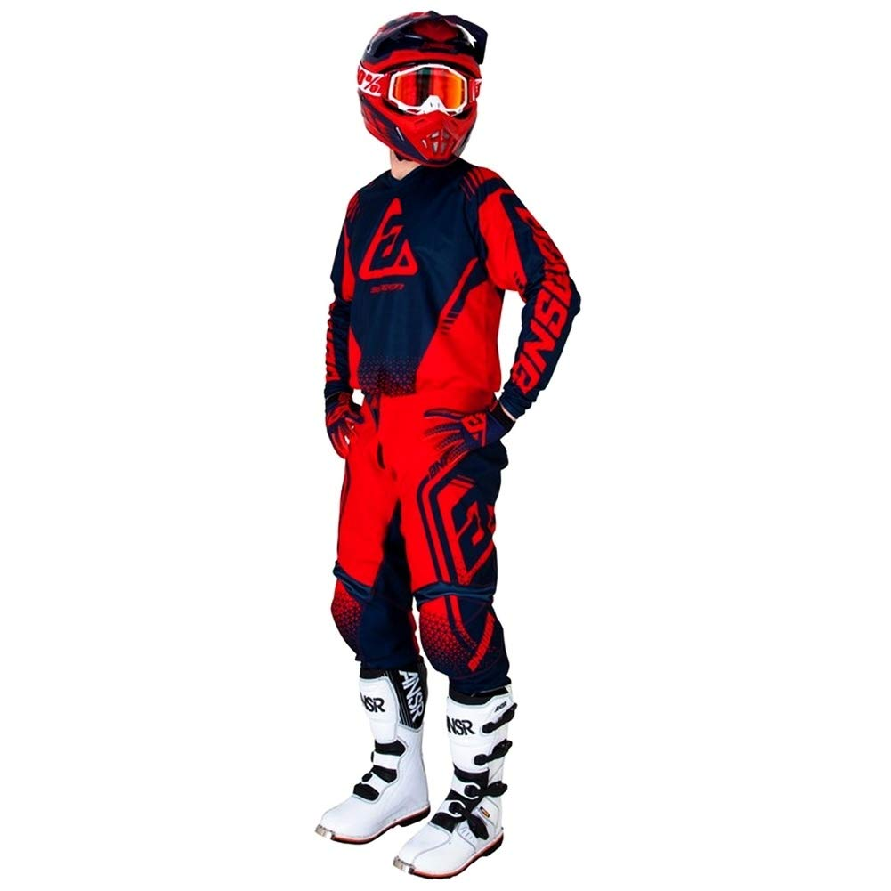 26 Answer Racing A19 Syncron Drift Youth Boys Off-Road Motorcycle Pants Charcoal//Black