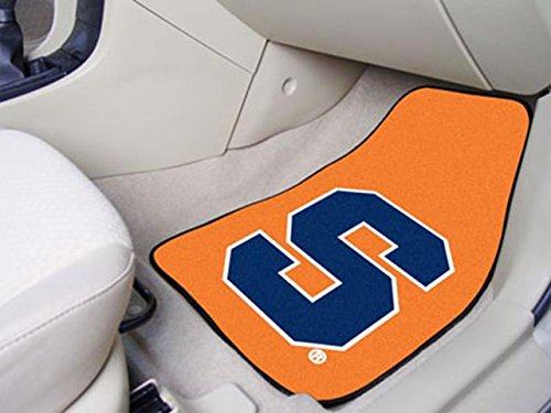 Wholesale FanMats Syracuse 2-piece Carpeted Car Mats 18x27, [Collegiate, Syracuse] by Bigbolo