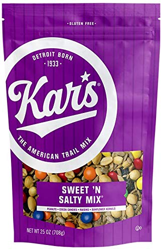 Kars Nuts Sweet N Salty Trail Mix Snacks - 25 oz Resealable Pouch