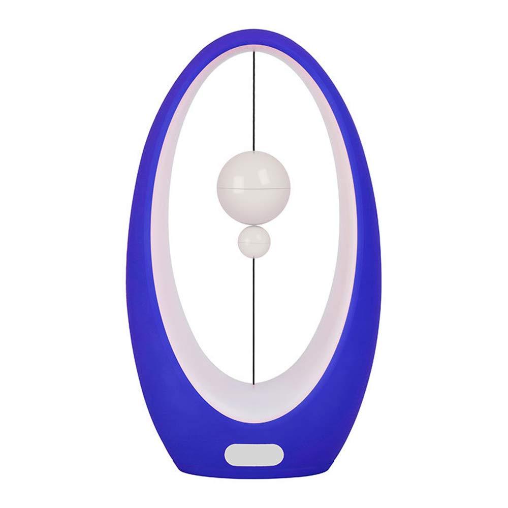 HLDUYIN LED Balance Balance Balance Lampe Tischlampe Mid-Air Switch Federung-USB Balance Licht Wohnzimmer, Esszimmer Und Büro Tischlampe (ROSA,Blau,Sun 3cb119
