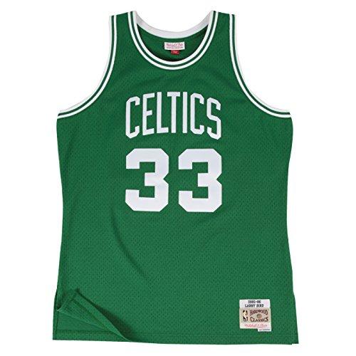 Larry Bird Celtics Jersey (Larry Bird Boston Celtics Mitchell & Ness NBA Throwback HWC Jersey - Green)