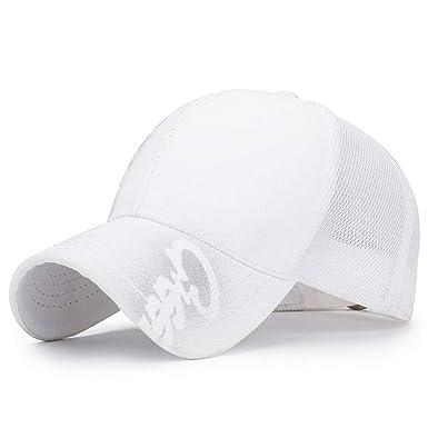 Gorra de Beisbol Brillo Brillo Estampado Tendencia Blanco ...