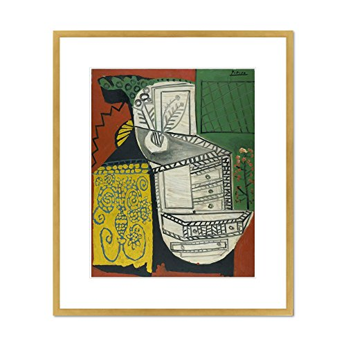 The Chinese Chest of Drawers (La Commode Chinoise) by Pablo Picasso, 1953. Framed Art Print