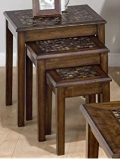 3 Pc Nesting Table Set