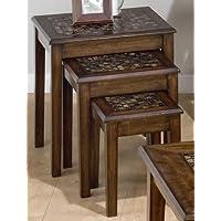 3-Pc Nesting Table Set