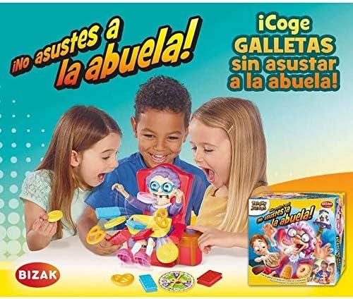 TOMY Juego NO DESPIERTES A LA Abuela, COGE Las Galletas SIN Que SE DESPIERTE: Amazon.es: Juguetes y juegos