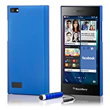 32nd® Hard shell protective case cover for BlackBerry Leap, including touch stylus - Deep Blue