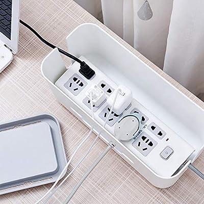 Caja organizadora de cables de alimentación de plástico ABS, para ...