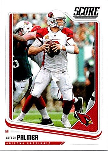 Football NFL 2018 Score #1 Carson Palmer #1 NM+ Cardinals