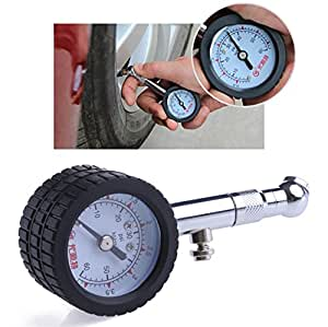 kangnice accurate yd 6025 car automobile tire air pressure gauge 0 60 psi dial meter. Black Bedroom Furniture Sets. Home Design Ideas